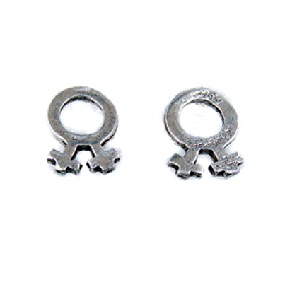 Female Symbol Stud Earring