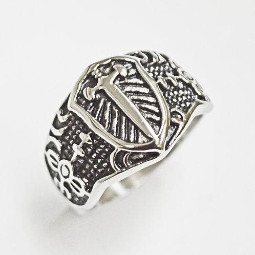 Sword Shield Ring (15mm) 81-1255