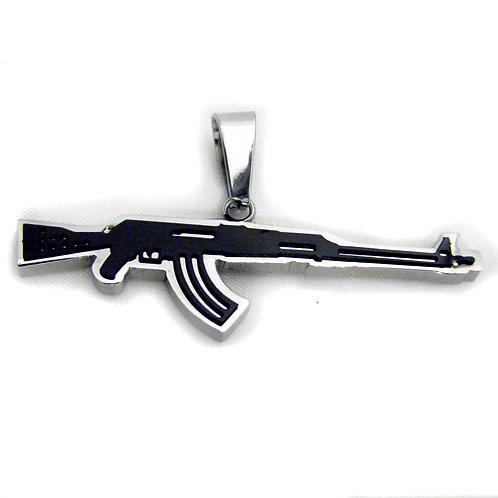 Rifles Pendant Stainless Steel