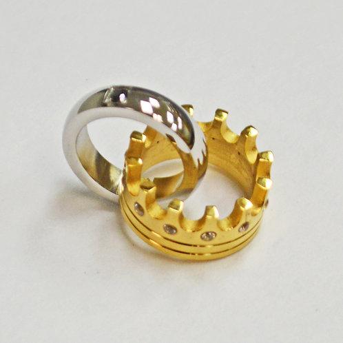 Crown Ring Pendant 86-2187
