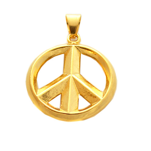 PEACE SYMBOL Pendant (39mm)