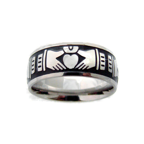 CLADDAGH RING (8mm) 81-839