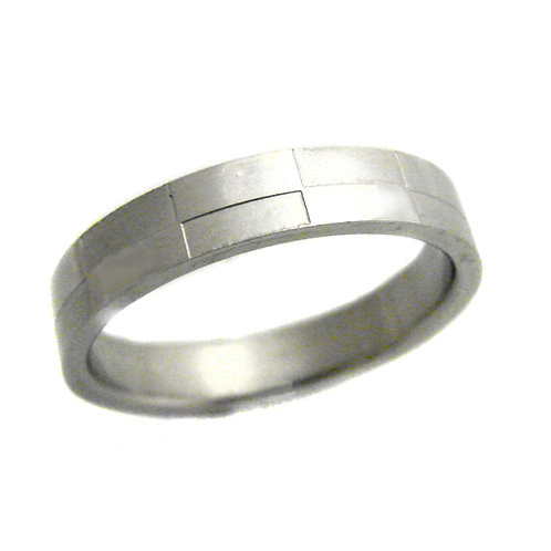 STAINLESS STEEL RING (4mm) 81-662