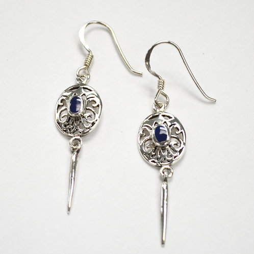 Dangling Earring Sterling Silver 535203