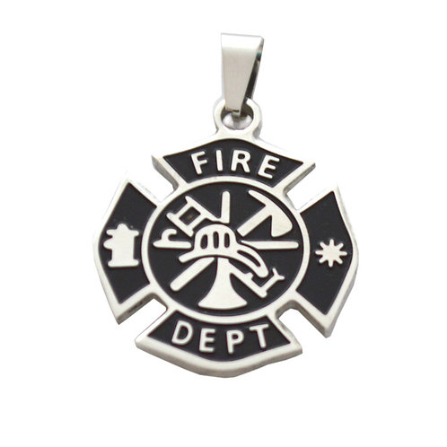 Fire Dept Pendant 86-866-1
