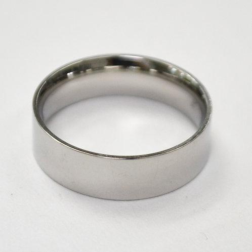 6MM SHINY FLAT BAND RING 81-403-6