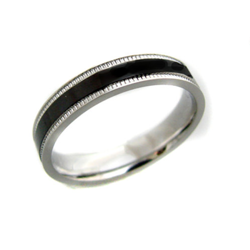 STAINLESS STEEL RING (4mm) 81-408