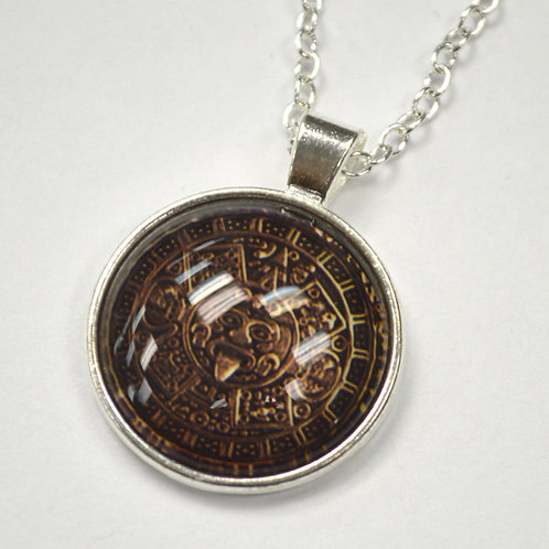 Aztec Calendar Fashion Jewelry FJ-1