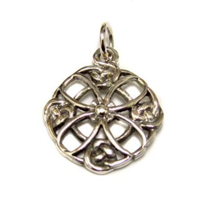 Celtic Cross Pendant Sterling Silver 561132