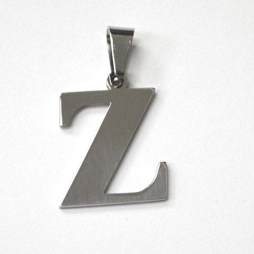 Z Initial Pendant Stainless Steel 86-278-Z