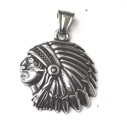 Chieftain Stainless Steel Pendant 86-2354