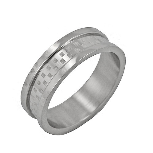 STAINLESS STEEL RING (6mm) 81-311