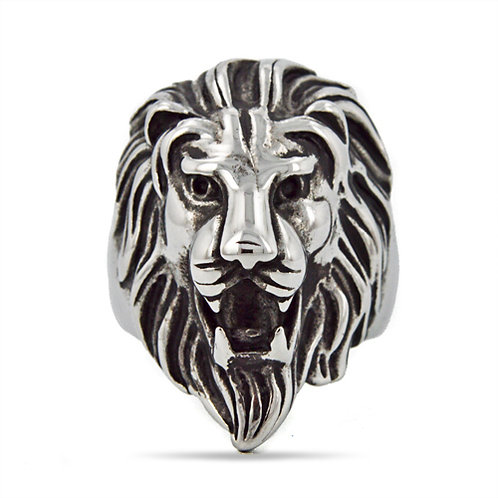 Lion Face Ring (26x36mm) 81-639