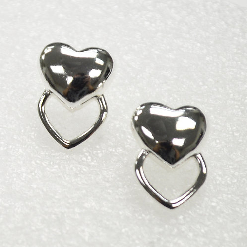 Designer Inspired Sterling Silver Earrings 531005