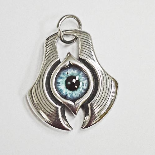 Blue Eyeball Pendant 86-2101-Bl