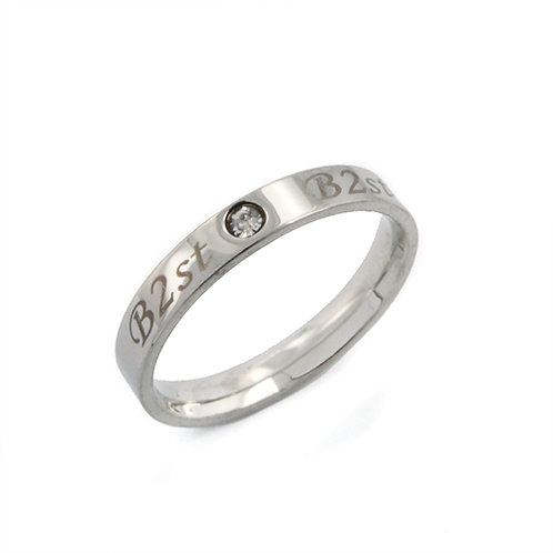 Stainless Steel Ring (4mm) 81-773