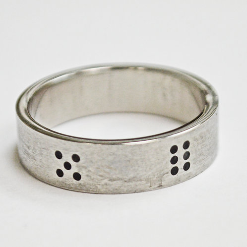 Dice number Ring (6mm) 81-930