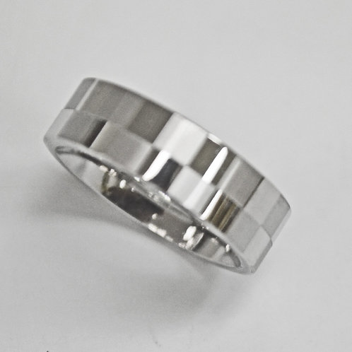 STAINLESS STEEL RING (6mm) 81-422
