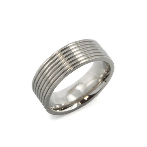 STAINLESS STEEL RING (7mm) 81-327