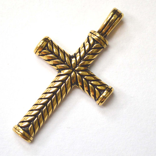 Cross Gold Plated Pendant 86-995G-L