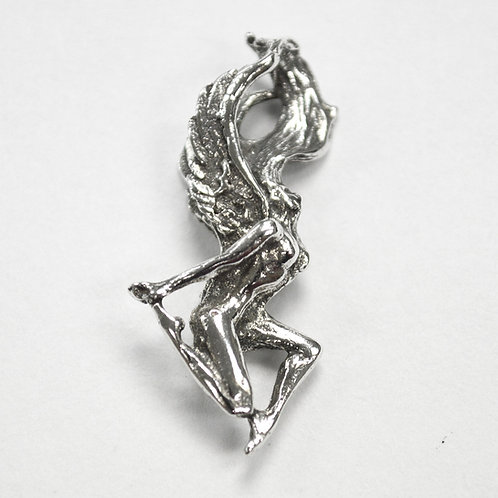 Fairy Pendant Sterling Silver 561186