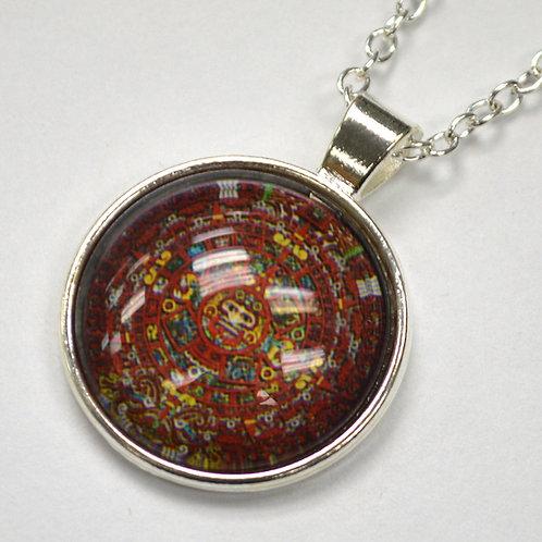 Aztec Calendar Fashion Jewelry FJ-3