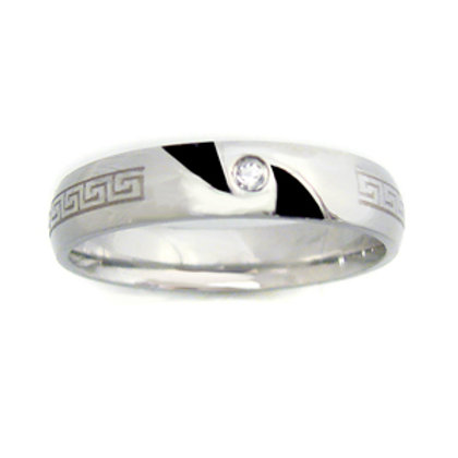 STAINLESS STEEL RING (4mm) 81-399