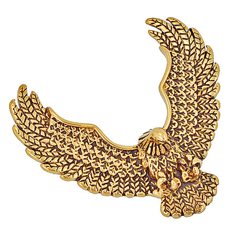 Gold Plated Eagle Pendant Stainless Steel 86-899G