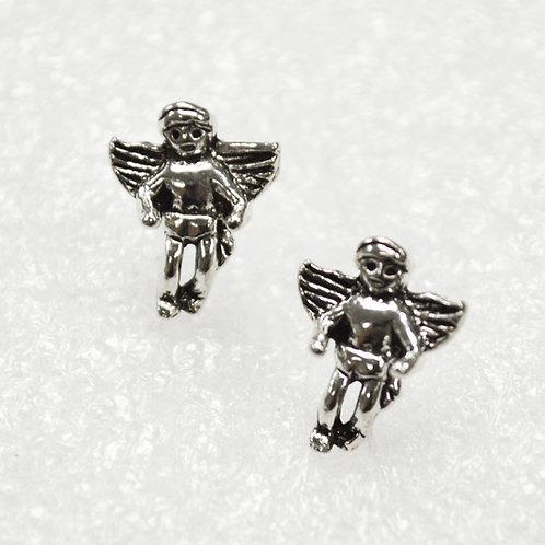 Angel Stud Earring Sterling Silver 535223