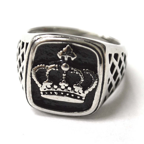 Crown Stainless Steel Ring 81-1275S
