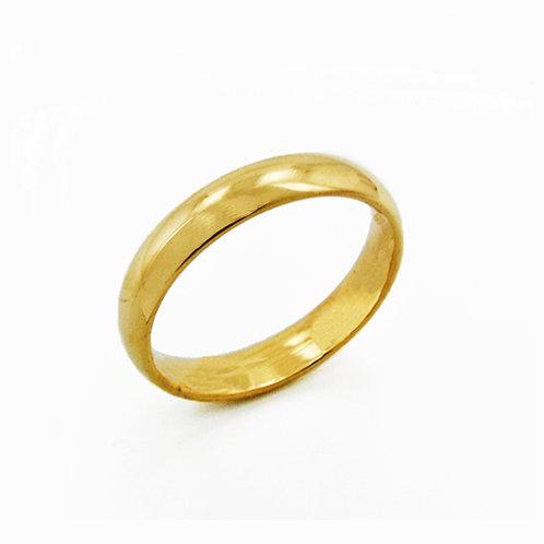6MM GOLD PLAIN BAND RING 81-640-6