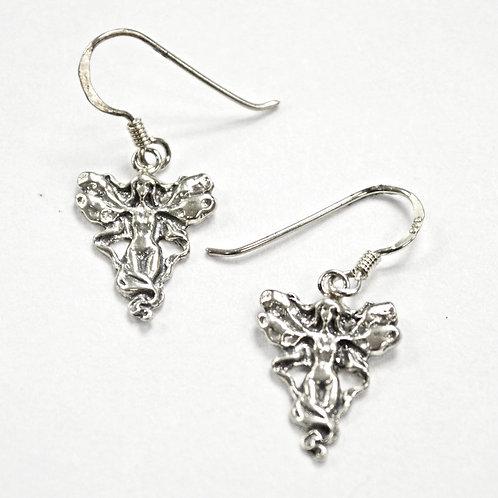 Fairy Sterling Silver Earrings 535200