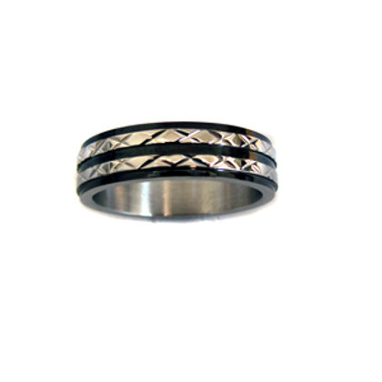 STAINLESS STEEL RING (6mm) 81-345