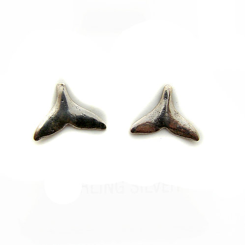 Whale Tail Stud Earring 535116
