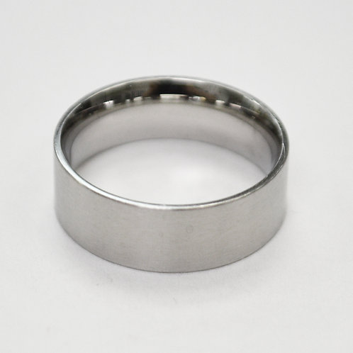 Flat Plain Band Ring (6mm) 81-304-6