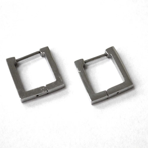 Square Shape Hoops Stainless Steel 83-777S