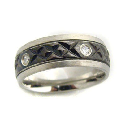 STAINLESS STEEL RING (8mm) 81-489