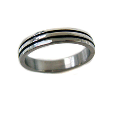 STAINLESS STEEL RING (4mm) 81-336
