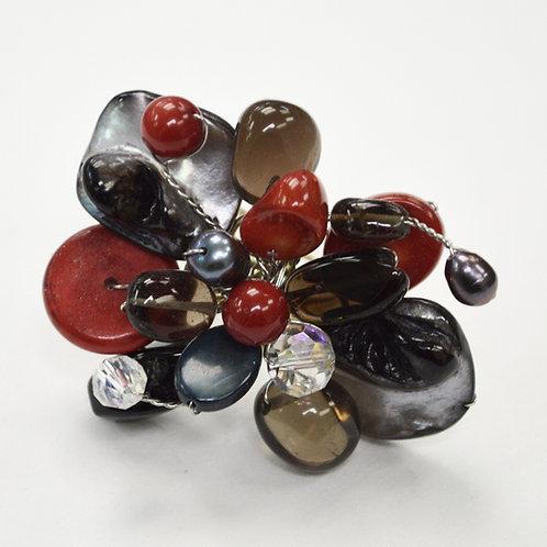 Semi Precious Stone Ring 522009