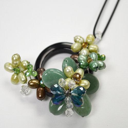 Semi Precious Stone Necklace 522007