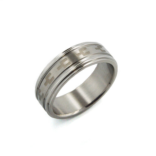 STAINLESS STEEL RING (7mm) 81-328
