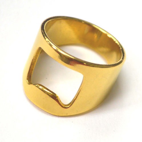 Opener Gold IP Plated Ring 81-1453G