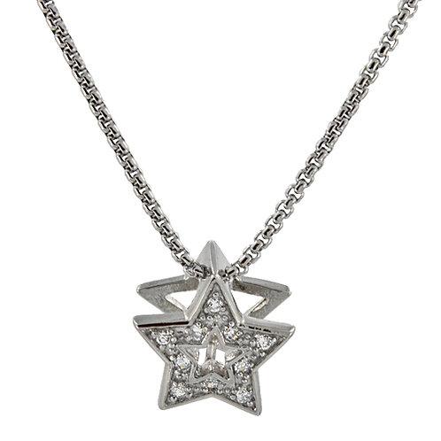 CZ Star Pendant 86X-115 Star