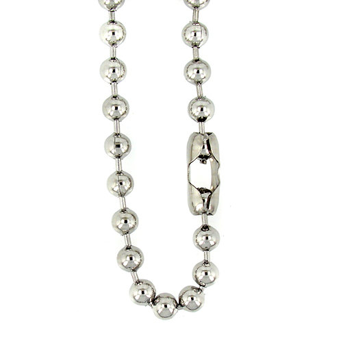 8m Bead Stainless Steel