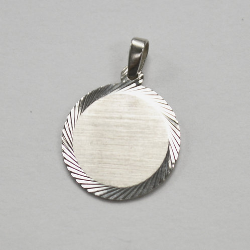 Tag Pendant Sterling Silver  562279