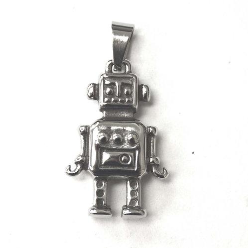 Robot Stainless Steel Pendant 86-2336