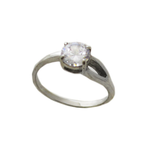 CZ  Stainless Steel RING (7mm) 81-1196