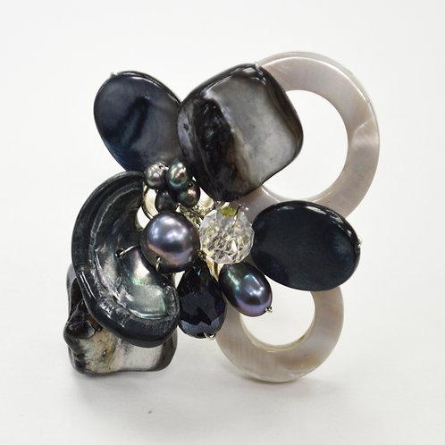 Semi Precious Stone Ring 522006