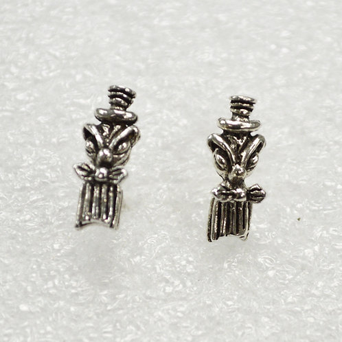 Tiki Stud Earring Sterling Silver 535215