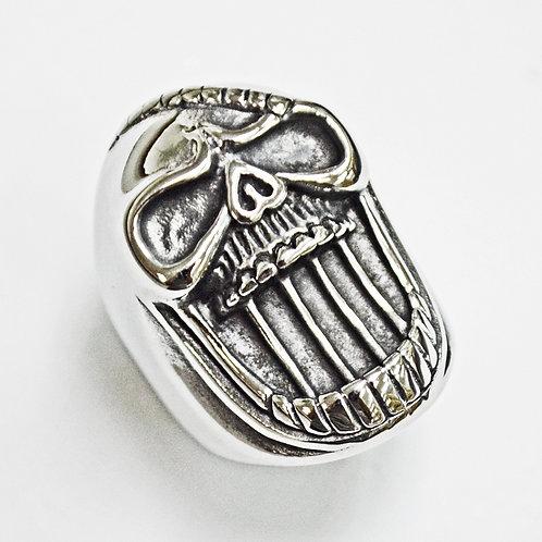 Skull Stainless Steel Ring (21x33mm) 81-1239